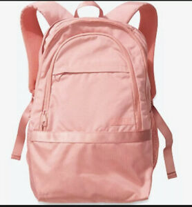 NWT Victoria's Secret PINK Collegiate Backpack School Book Bag Rose Pink