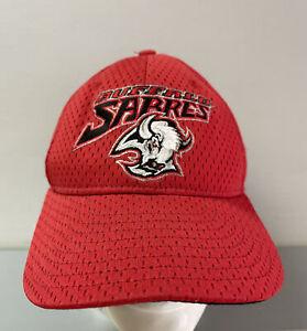 Vintage Buffalo Sabres NHL Goat Head New Era Cap Hat One Size Hockey Goat Head
