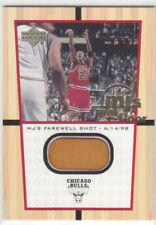 1999-00 Upper Deck MICHAEL JORDAN MJ's FINAL FLOOR FF12 ( NOT JUMBO ) RARE BULLS