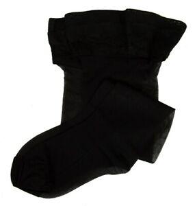 SG Calza autoreggente calze donna 15 den 17 dtex setificata opaca balza pizzo LE
