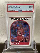 1989 Hoops Michael Jordan 200 PSA 9