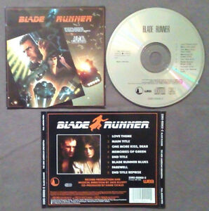 CD OST Soundtrack The New American Orchestra BLADE RUNNER no mc lp dvd vhs(OST1)