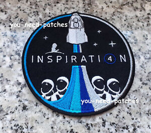 NASA SpaceX Inspiration 4 Logo Patch Kennedy Space Centers Apollo Space Shuttle