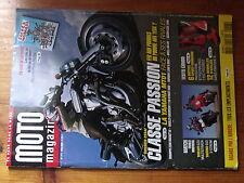 $$a Revue Moto Magazine N°217 Radars arrière  Yamaha MT01  Bottes  Ducati 620