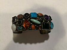 Emer Thompson Bracelet Cuff Sterling Native American 925 Vintage
