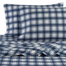 New Pendleton 100% Cotton Flannel Plaid Sheet Set King Size