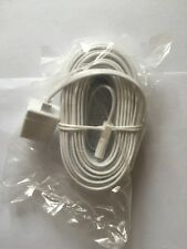 10 Mtr White Telephone Extension Plug To Socket