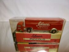 SCHUCO PICCOLO 743 MERCEDES REFRIGERATOR SEMI TRUCK - 1:90 - EXCELLENT IN BOX