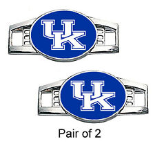 University of Kentucky Shoe Charms / Paracord Charms