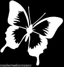 """5"""" tall Butterfly Window Decal ~ Choose Your Vinyl Color"""