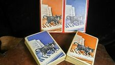Kitty cat vintage playing cards 1950s 1960s games