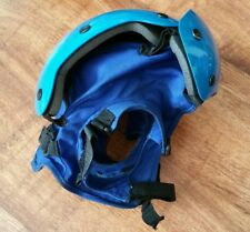 Original Helmet Flight Deck Crewmans FR Blue Size 2 RAF RN Aircraft Carrier