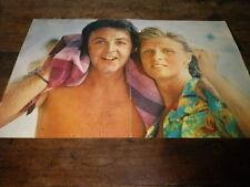 PAUL & LINDA Mac CARTNEY - Poster !!! 2P !!! VINTAGE 70'S !!!