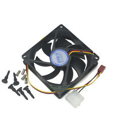 90mm x25mm 3pin &4pin Cooler Cooling Fan For PC Case CPU VGA Card Replacement