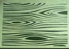 Nuevo A4 T10 plantilla de placa de textura de madera Plantillas Aerógrafo decoración de suelos