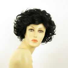 Perruque femme courte bouclée brun foncé KIMBERLEY 2