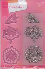 Marianne COLLECTABLES  FLOWERS/LEAF Dies/Stamps COL1304 Cuts Felt REDUCED