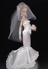 BARBIE DOLL ROBE DE MARIÉE WEDDING GOWN # 04932