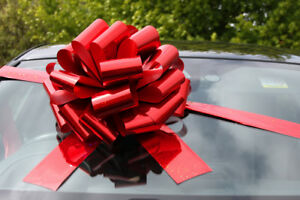 BIG CAR BOW - Mega Giant Extra Large Bow New Cars, Birthday Presents, XMAS Gifts