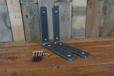 Metal Shelving Brackets - Handmade - Rustic - Industrial - 6 x 30mm Steel