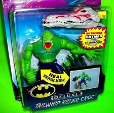 BATMAN DC Comics Knight Force Ninjas KILLER CROC Tailwhip Reptile Action Figure