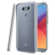 para LG G6 - RESISTENTE fina transparente Poliuretano termo-plástico Funda Gel