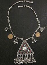 Charm Coin Necklace Chain Pendant Hot Fashion Jewelry Afghan Boho Vintage Tribal