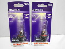 Sylvania XTRAVISION 9005 Pair Set High Performance Headlight 2 Bulbs