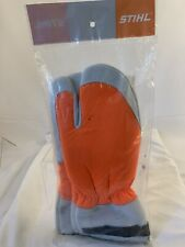 Stihl 0000 886 1101 Chainsaw Protective Mitts Gloves Genuine Medium Size 9 seal