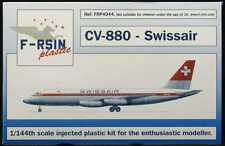F-RSIN Models 1/144 CONVAIR CV-880 Swissair Airlines