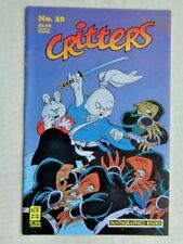 Critters No 10 March 1987 First Printing November 1986 Fantagraphics VF/NM (9.0)