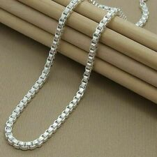 Vintage Chain 23 Long Fine Jewelry N0179 Vintage Necklace Chain Necklace Superb Vintage Stationary Beaded Sterling Silver Chain