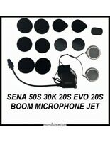 RXUS Sena 50S 30K 20S Audio Kit, integrated boom microphone and metal speakers