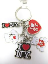 New York porte clé I love NY Keychain Charms, Souvenir Amérique