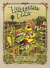 MINT/SIGNED SPUSTA Widespread Panic 2008 Orpheum Los Angeles Poster 31/50