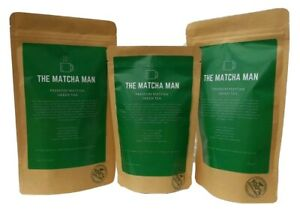 Matcha Green Tea Powder Premium Quality 100% Organic Energy Boost Detox Tea UK