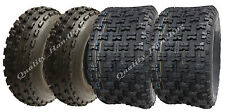 Set of four Slasher quad tyres 21x7-10 /20x11-9  Wanda Race road legal E marked