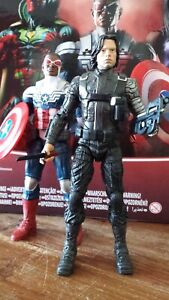Marvel Legends  Falcon Winter Soldier Sam Wilson Bucky Captain America