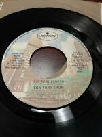 45 Record Con Funk Shun Got to Be Enough/Early Morning Sunshine VG Disco Soul