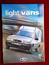 Luz De Ford Vans 1996-folleto de ventas-nuevo correo Plus Escort & Fiesta