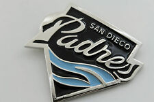 Men Silver Metal Belt Buckle Padres Sport Team Fans Baseball San Diego