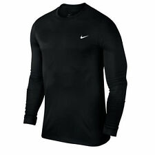 Nike Polyester Long Sleeve Fitness Activewear for Men
