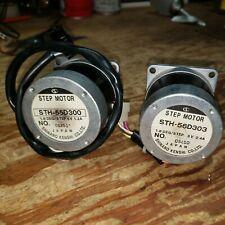 2 Shinano Kenshi Step Motor Sth 55d300 18degstep 51v 1a 55d303 3v 24a
