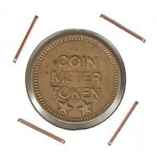 United States : COIN METER TOKEN ( Eagle ) brass