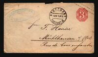 Germany Wurttenberg 1874 Postal Cover / Light Creasing - Z16771