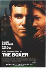 THE BOXER MOVIE POSTER Video 1sheet 27x40 DANIEL DAY LEWIS + THERE WILL BE BLOOD