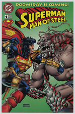 DOOMSDAY IS COMING SUPERMAN MAN OF STEEL #1A KENNER LIMITED EDITION 1995 VF+