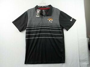 Boys Nike Dri-Fit NFL Team Apparel Jacksonville Jaguars Polo Shirt X Large NWT