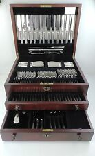 Outstanding 144 piece SILVER ART DECO GRECIAN PATTERN CANTEEN of CUTLERY Carrs