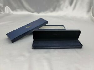 Genuine Chopard Empty Watch Box Outer Long Navy 210702023 P190